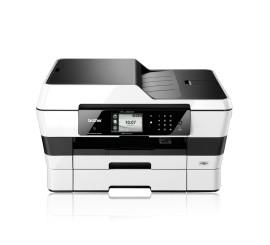 Imprimante multifonction jet d'encre couleur avec impression A3, recto-verso intégral, WiFi et fax