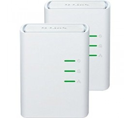 Dlink 2 adaptateurs ethernet Powerline CPL DHP-309AV & DHP-308AV, UE Plug