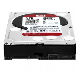 "Disque Dur Interne 3""5 Sata III WESTERN DIGITAL 4TO-RED"