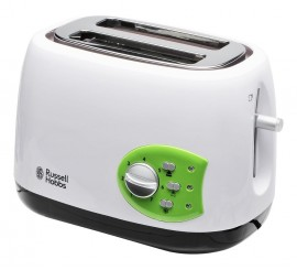 Russell Hobbs Grille-Pain 19640-56 Blanc/Vert 650 W