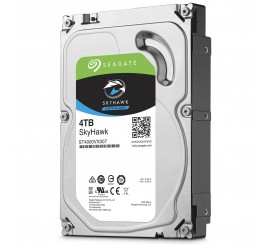 """Disque Dur Interne Seagate SkyHawk 4 To, 3""""5, 7200 RPM 64 Mo Serial ATA 6 Gb/s pour Vidéosurveillance"""