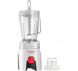 Moulinex Blender Genuine LM241025, 450W, 1 vitesse + turbo, Made in France