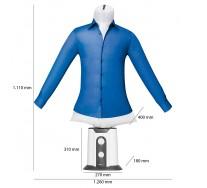 Clatronic defroisseur HBB 3707 Mannequin de Repassage Domestique et séchage Automatique