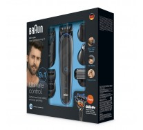 Braun Kit tondeuse polyvalente MGK3080 : kit de coupe de précision visage et cheveux 9-en-1
