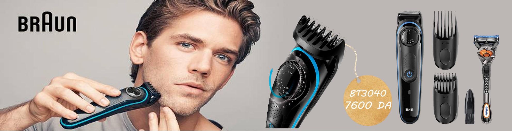 Braun Tondeuse à barbe BT3040