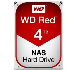 "Disque Dur Interne Western Digital 4TO-RED NAS, 3""5 Sata III"