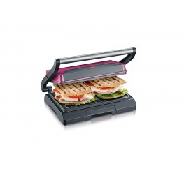 Severin KG 2393 Grill multi-fonctions compact, Panini, sandwich, 800 W, marque Allemande