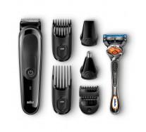 Braun Kit tondeuse polyvalente MGK3060 : kit de coupe de précision visage et cheveux 8-en-1