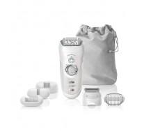 Épilateur Braun Silk-épil 7 7/880 SensoSmart™ Argent - Épilateur sans fil avec technologie Wet & Dry et 7 accessoires