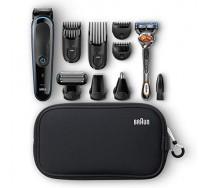 Braun Kit tondeuse polyvalente MGK3980 : kit de coupe de précision visage et cheveux 9-en-1