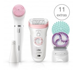 Braun Epilateur Silk-épil Beauty Set 9-985, beauty set 8 accessoires