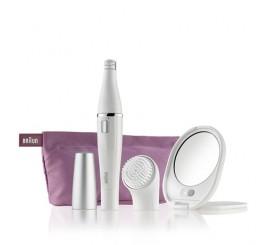 Braun Face 830 Édition Premium - épilateur visage & brosse nettoyante visage avec micro-oscillations