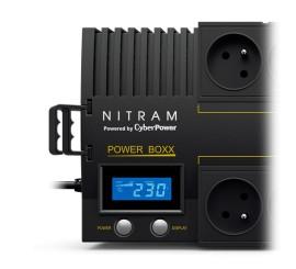 Onduleur NITRAM PB700LCD InLine Tour 700VA/420W