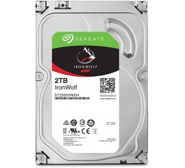Seagate 1ST2000VN004, Disque dur interne IronWolf 2 To, NAS HDD – CMR 3,5 pouces SATA