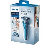 Philips Rasoir électrique S7370/12, 100% étanche, pour homme avec tondeuse de précision
