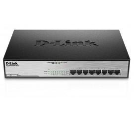 SWITCH D-Link 8-PORT PoE DGS-1008MP