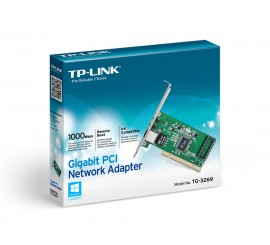 Carte Réseau TPLINK 10/100/1000Mbps PCI Network Interface Card,